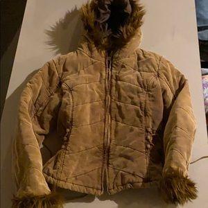 Womans lg corduroy winter/ fall jacket